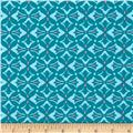Amy Butler Dream Weaver Cross Print Teal