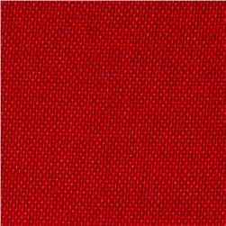Shannon Faux Burlap Rouge Red