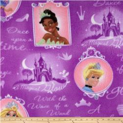 Disney Fleece Princess Magical Cameos Purple