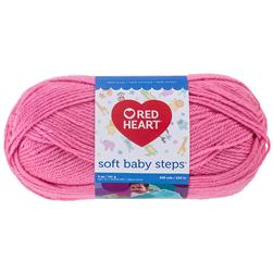 Red Heart Yarn Soft Baby Steps 9702 Strawberry