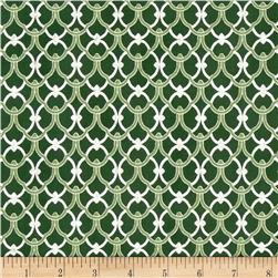 Alchemy Metallic Ironwork Pine/Silver Fabric