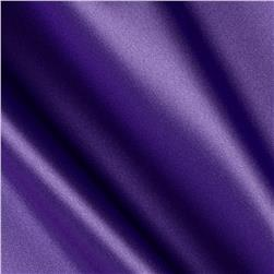 Silky Satin Charmeuse Solid Violet Lush