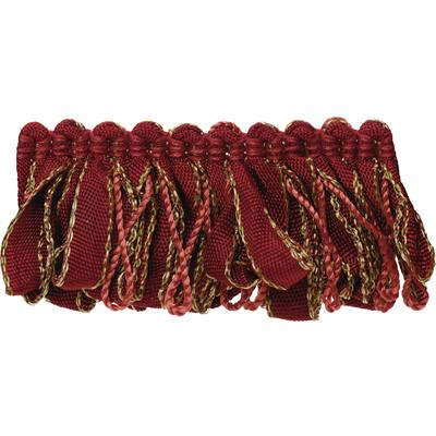 Fabricut Bakro Loop Fringe Ruby Slipper