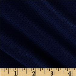 Stretch Athletic Mesh Knit Navy