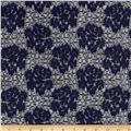 Novelty Lace Navy