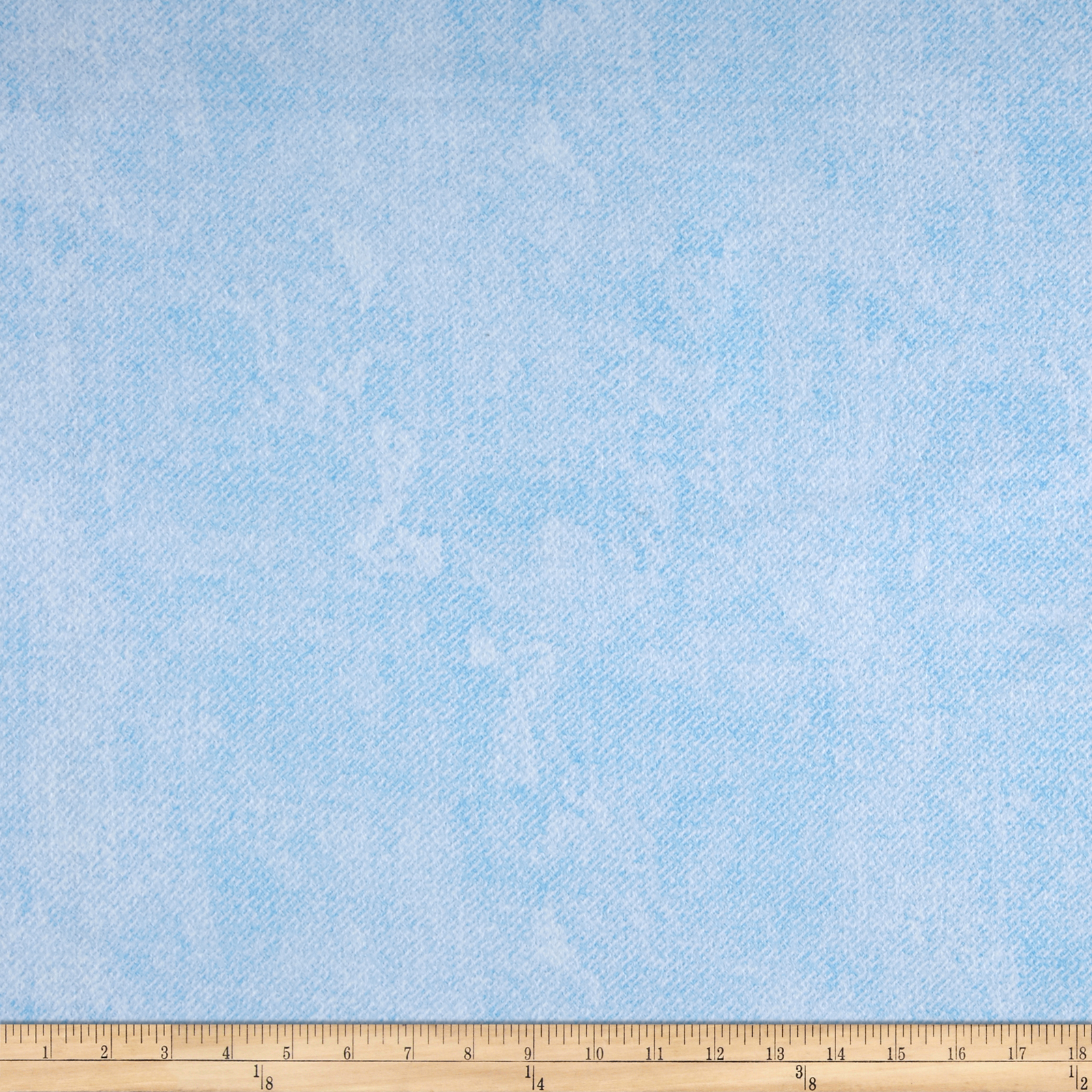 Essentials 60'' Criss Cross Flannel Light Blue Fabric by MM Fab in USA