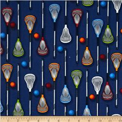 Sports Life Lacrosse Gear Blue Multi