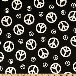 Premier Prints Peace Black