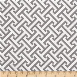 Waverly Sun N Shade Cross Section Smoke Fabric