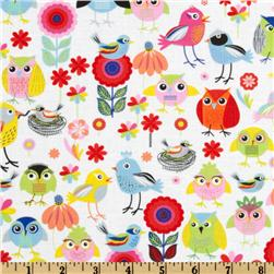 Timeless Treasures Birds Of A Feather Multi
