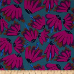 Kaffe Fassett Collective Mineral Lazy Daisy Charcoal