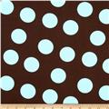 Pimatex Basics Large Dots Cocoa