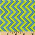Michael Miller Retro Tire Treads Chevron Wave