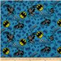 DC Comics Flannel Batman Blue