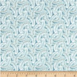 Dogwood Lane Feathers Light Blue