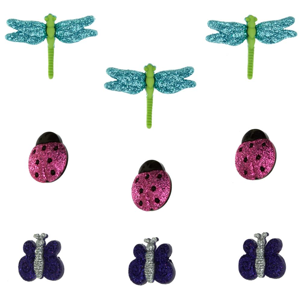 Dress It Up Embellishment Buttons  A Bugs World