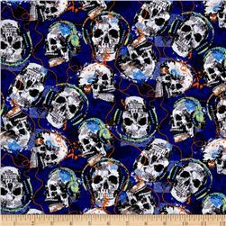 Rock Legends Musical Skulls Royal