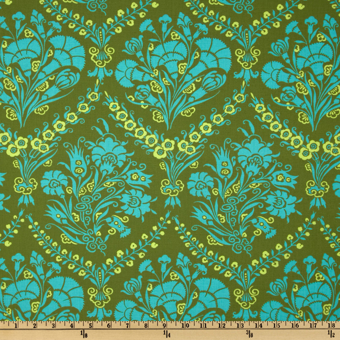 Amy Butler Cameo Josephine's Bouquet Meadow Fabric