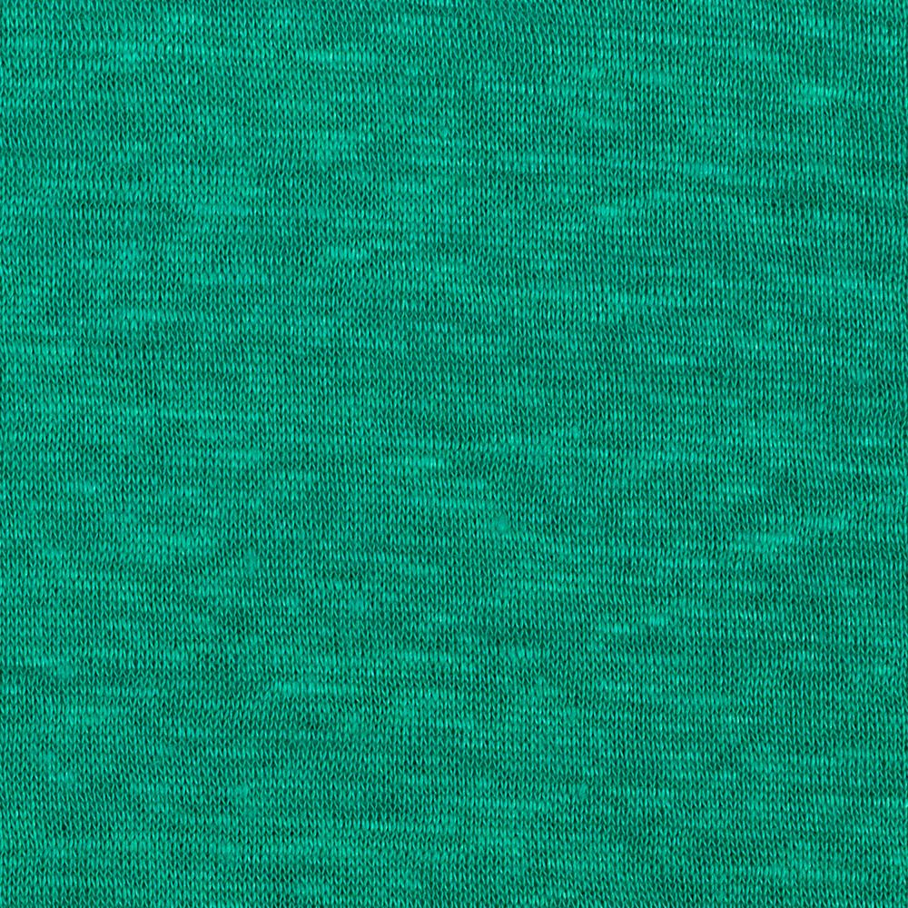 Telio Capri Linen Jersey Knit Teal Green Fabric