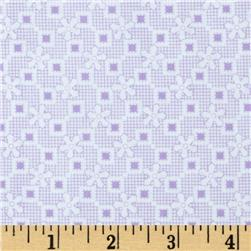 Penny and Friends Star Plaid Lavender