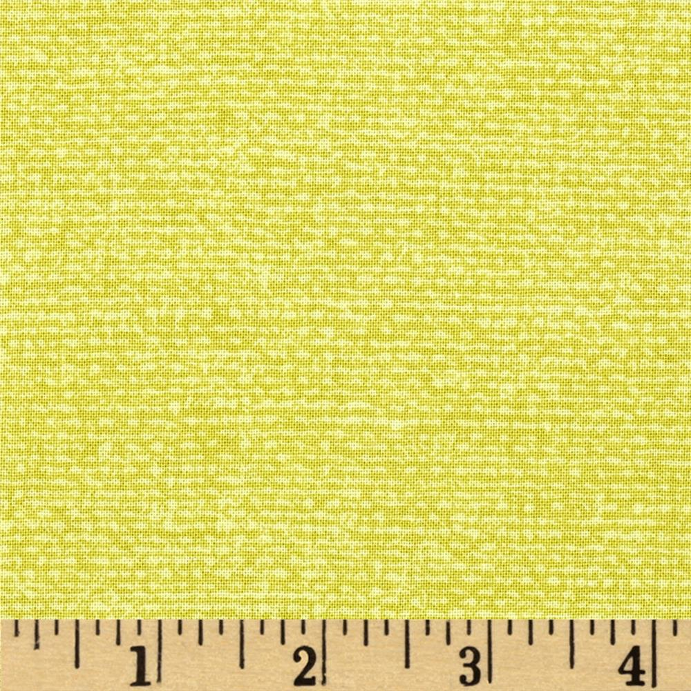 Michael Miller Migration Bark Cloth Citron