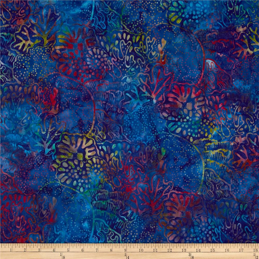 Artisan Batiks: Totally Tropical 2 Coral Reef Bermuda