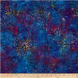 Artisan Batiks: Totally Tropical 2 Coral Reef Bermuda Blue