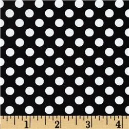 Riley Blake Dots Small Black