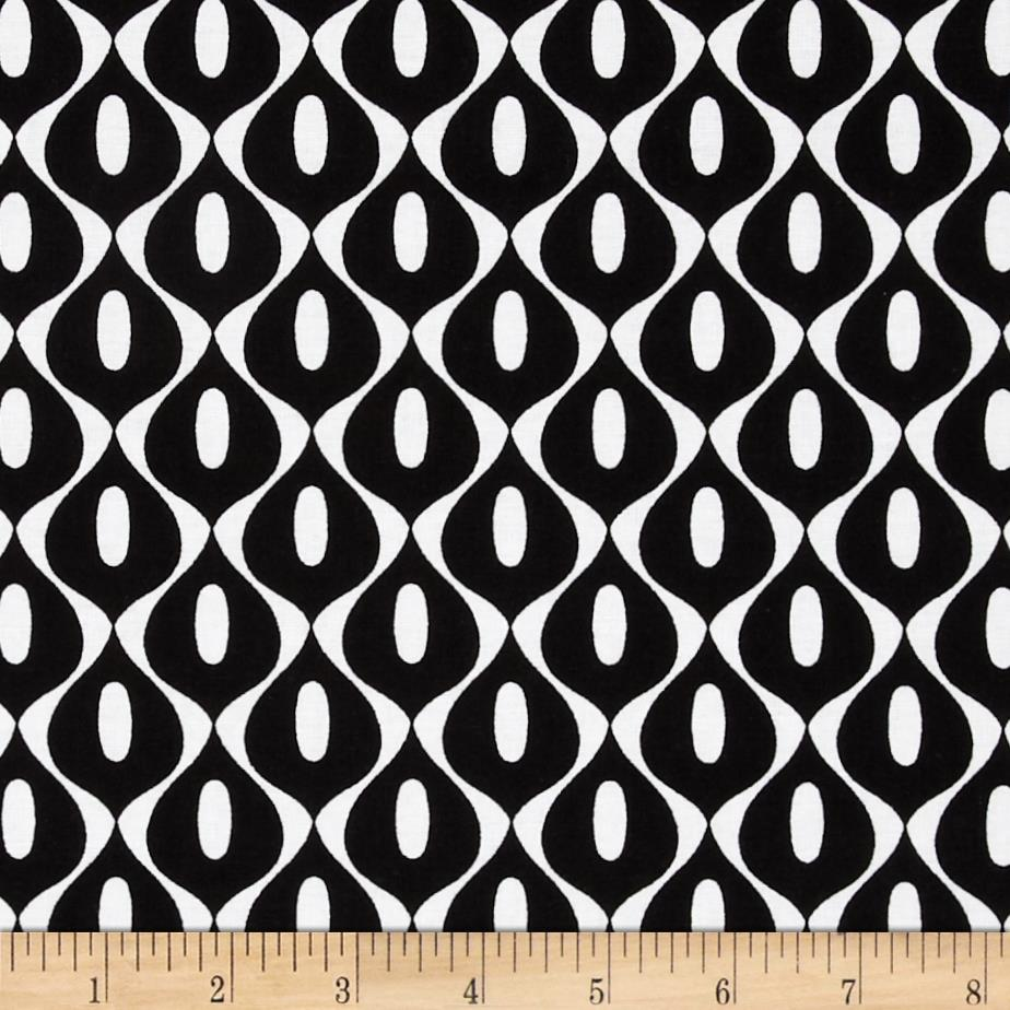 Riley Blake Mod Studio Wallpaper Black