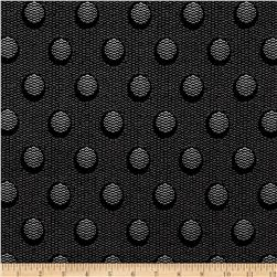 The Steel Collection Abstract Dots Black/Silver