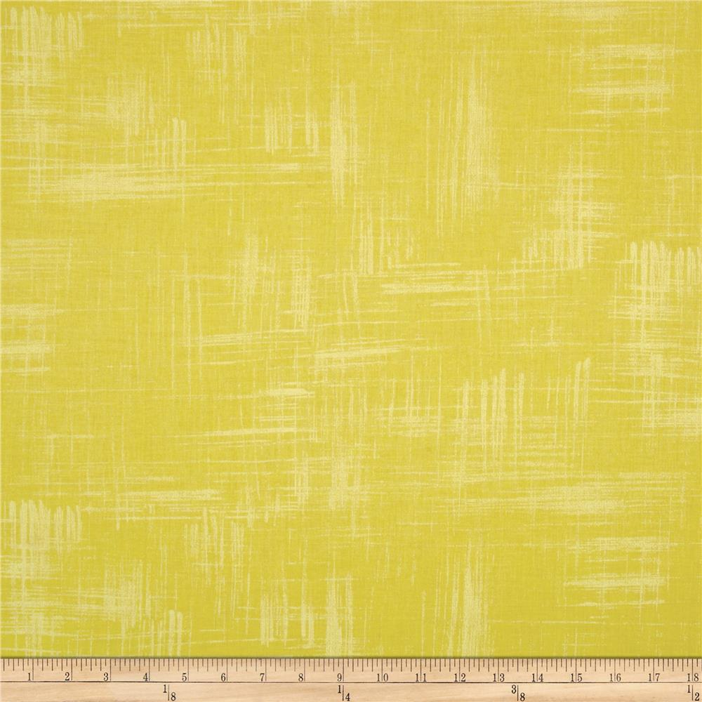 Michael Miller Painters Canvas Lemon