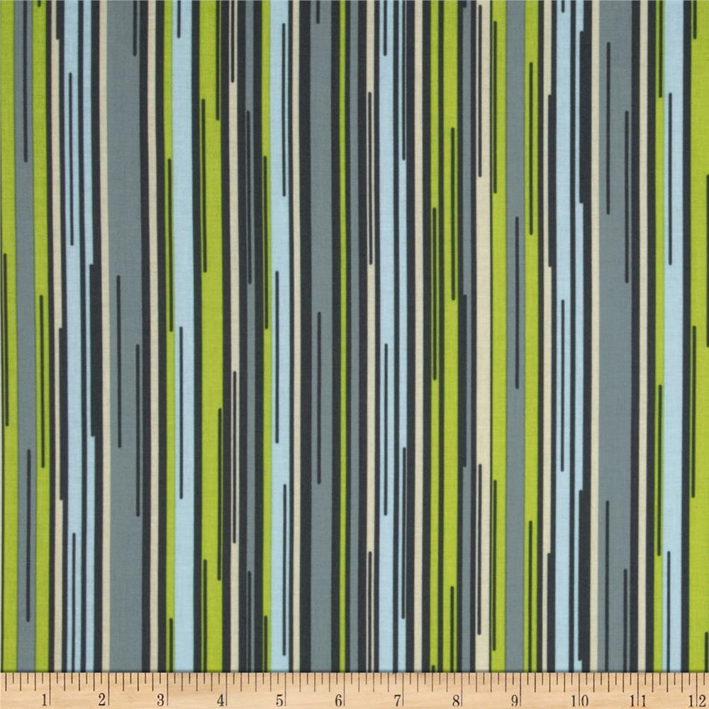 Moda Barcelona Stripes Steel/Multi