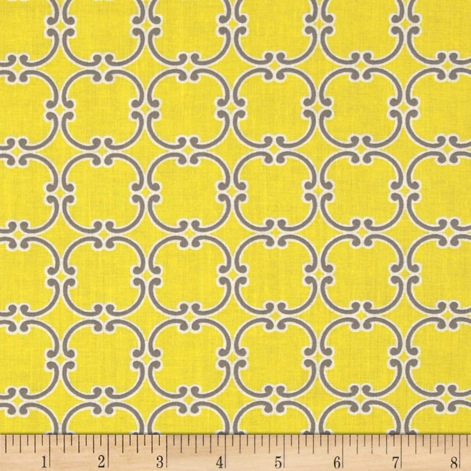 Gray Matters More Medallions Yellow