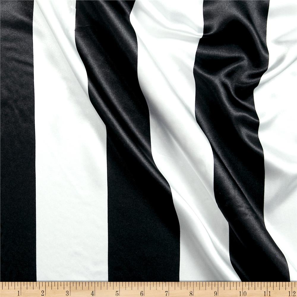 Stripe Fabric Stripe Fabric By The Yard Fabriccom - Black and gold stripe drapery fabric