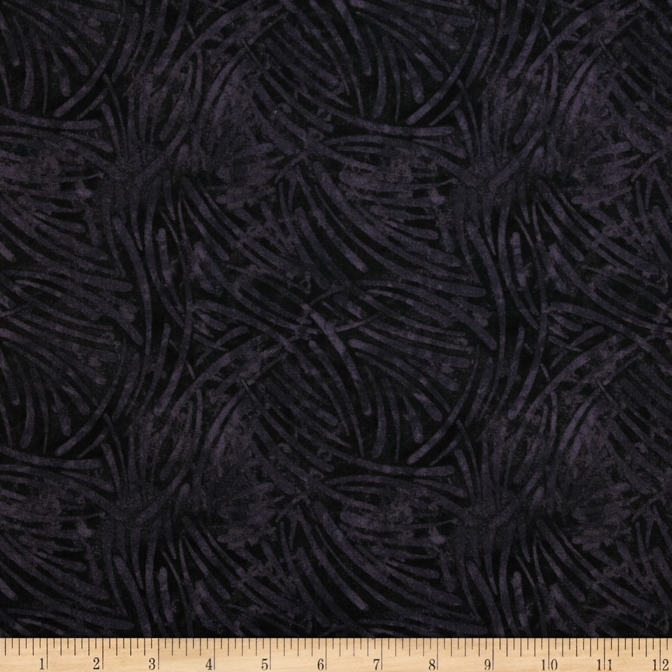 108'' Wide Essential Quilt Backing Chopsticks Black Fabric
