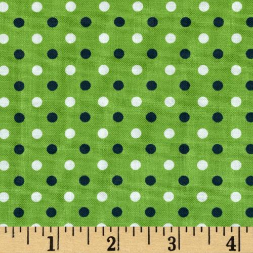 Fan-Tastic Dot Green