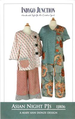 Indygo Junction Asian Night PJ Pattern