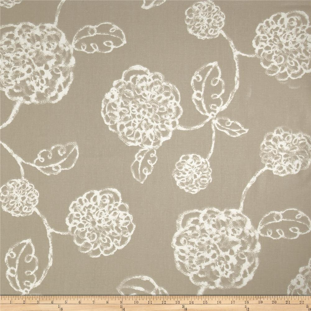 Magnolia Home Fashions Adele Linen Fabric By The Yard