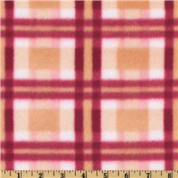 Fleece Plaid Pink/Rose