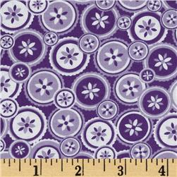 Jenean Morrison True Colors Buttons Purple