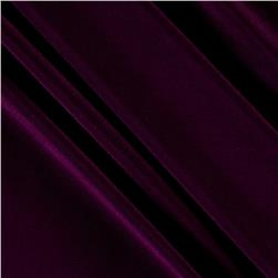 Poly Spandex Stretch ITY Knit Solid Mulberry