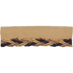 Fabricut Zingari Cord Trim Black Diamond