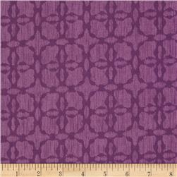 Spiro Ikat Tone on Tone Geo Purple