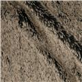 Minky Frosted Shag Cuddle Black/Beige