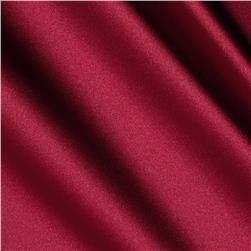Stretch Satin Cranberry