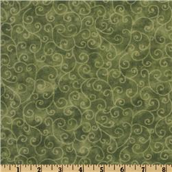 Moda Marble Swirls (9908-48) Dusty Sage Fabric