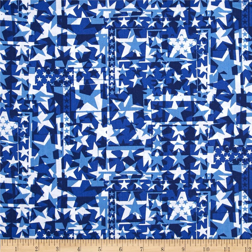 USA Star Collage Navy