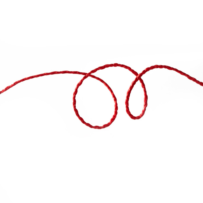 Wired String Red