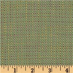 Designer Suiting Crosshatch Green