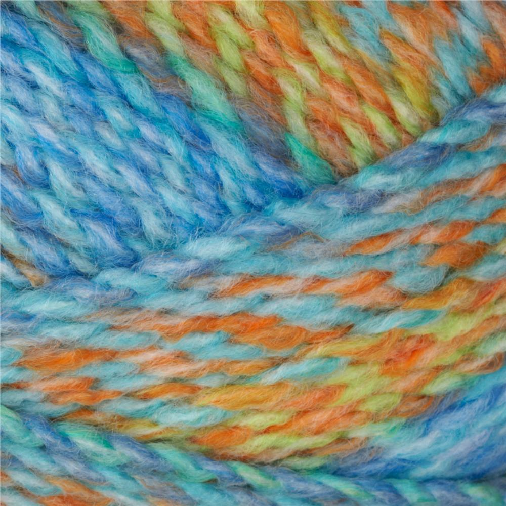 Lion Brand Tweed Stripes Yarn (218) Apple Mint